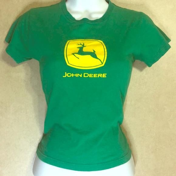 mean green john deere t shirt